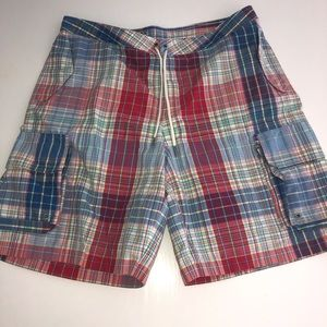 Polo Ralph Lauren plaid swim shorts trunks 38